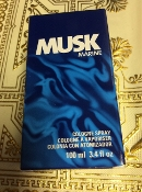 Avon Musk Marine Men's Cologne Spray 3.4 fl.oz.
