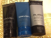 Avon Driven Variety Body Wash Set of 3 For Him