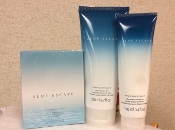 Avon Blue Escape For Him Set of 3
